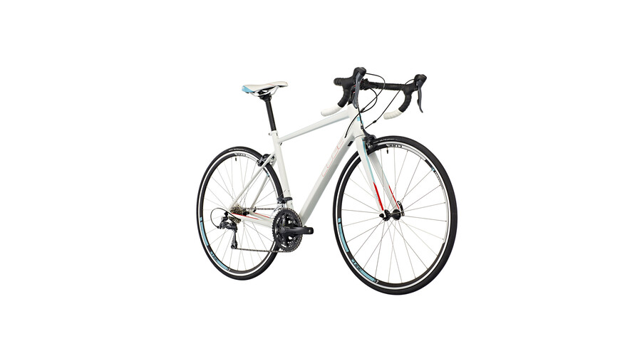 Cube Axial WLS racefiets Dames wit